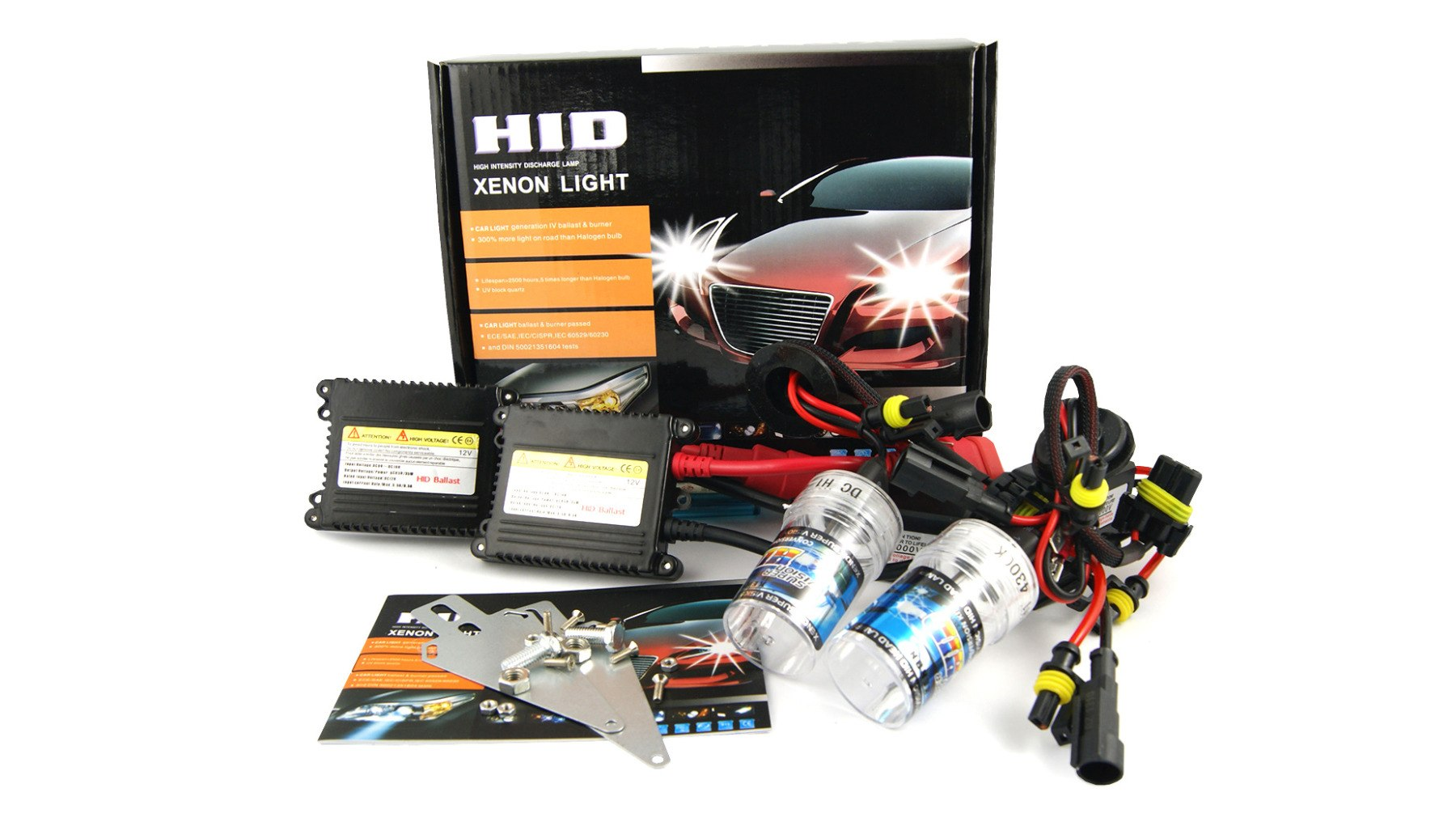 Zestaw HID Xenon UltraSlim BS DC H7 5000K - GRUBYGARAGE - Sklep Tuningowy